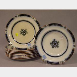 Set of Ten Ceramic Plates.