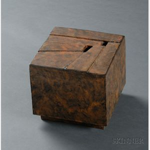 Sold for: $7,110 - Otto Natzler Sculpture Box