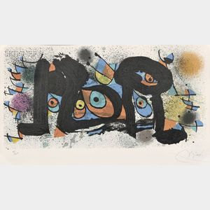 Joan Miró (Spanish, 1893-1983)      Lot of Two Images from   MIRÓ SCULPTURES