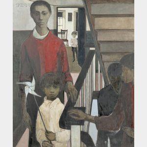 Cornelis Ruhtenberg (American, b. 1923)      Staircase