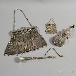 Four Silver Items