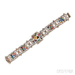 Art Deco Costume Bracelet