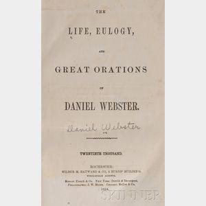 (Anthony, Susan B., Her Copy), Webster, Daniel (1782-1872)