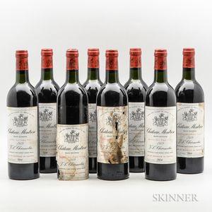 Chateau Montrose 1979, 8 bottles