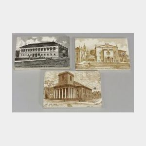 Twenty-one Wedgwood Transfer Printed Calendar Tiles