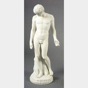 Parian Figure of Antinous