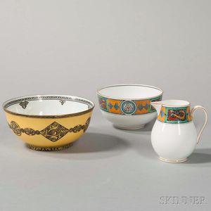 Three Wedgwood Celtic Design Bone China Items