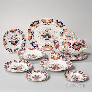Large Group of Mason Ironstone Tableware