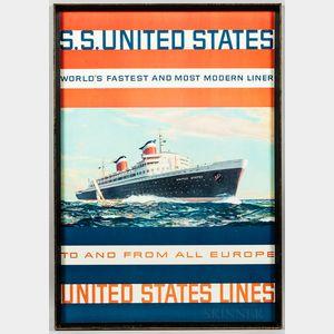 Oceanliner Advertising Poster