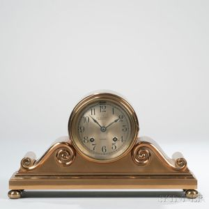 Chelsea Tambour No. 3 Ship's Bell Shelf Clock