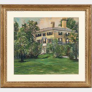 Arthur Clifton Goodwin (American, 1866-1929)      Yellow House