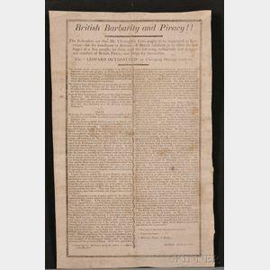 (Broadside, War of 1812)