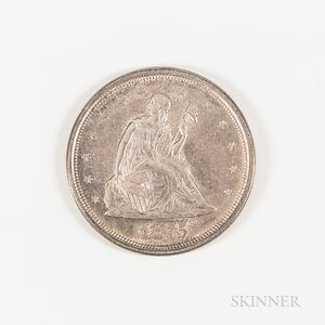 1875-S Seated Liberty 20 Cents