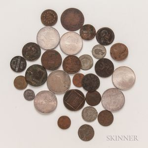 Group of Mostly European Coins
