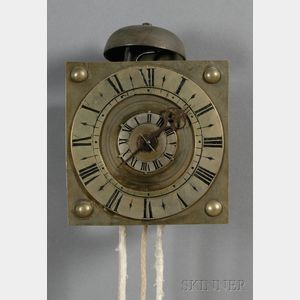 Brass and Iron Timepiece
