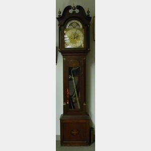 Victorian Mahogany Tall Clock