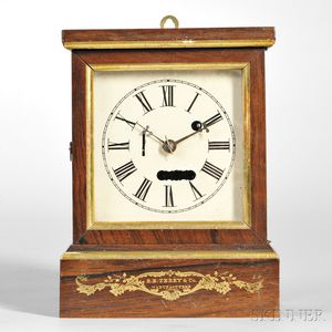 S.B. Terry Torsion Cottage Clock
