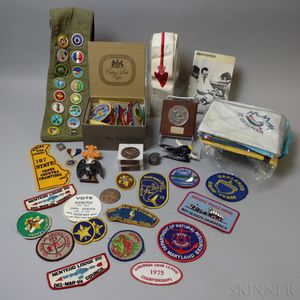 Small Group of Boy Scout Memorabilia
