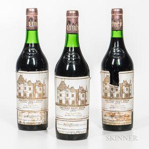 Chateau Haut Brion 1979, 3 bottles