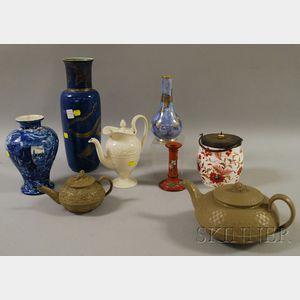 Eight Assorted Wedgwood Ceramic Items