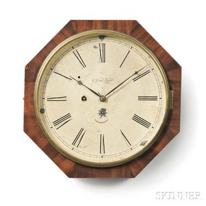 Marine Clock Company Octagonal Gallery Clock