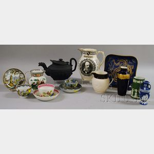 Sixteen Wedgwood and Other Ceramic Items