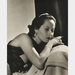 Attributed to George Hurrell (American, 1904-1992)      Merle Oberon