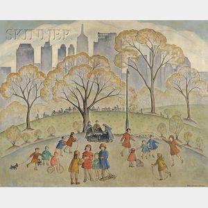 Ethel Blanchard Collver (American, 1875-1955)      Central Park