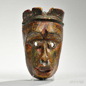 Rajbansi Dance Mask