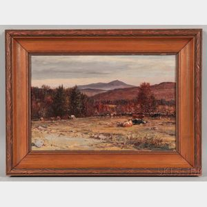William Preston Phelps (New Hampshire, 1848-1923)       Monadnock from Keene, N.H.