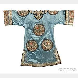 Embroidered Lady's Informal Robe