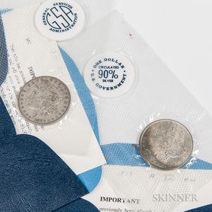 1879 and 1880-O GSA Morgan Dollar Soft Packs