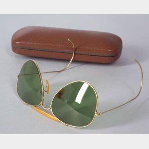 Vintage B & L Ray-Ban Aviator Sunglasses