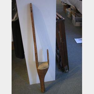 Early Wooden Leg