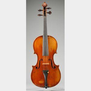 French Violin, Pierre Joseph Hel, Lille, 1902