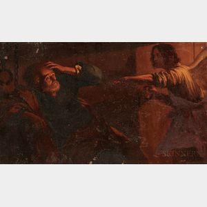 After Gerard van Honthorst (Dutch, 1592-1656)      The Liberation of St. Peter