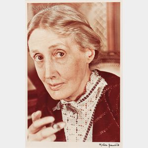 Gisèle Freund (French, 1912-2000)      Virginia Woolf