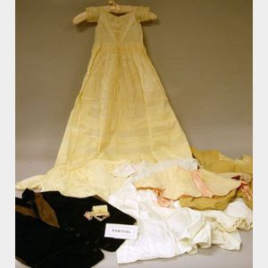Group of Childrens Victorian and Early 20th Century Clothing.