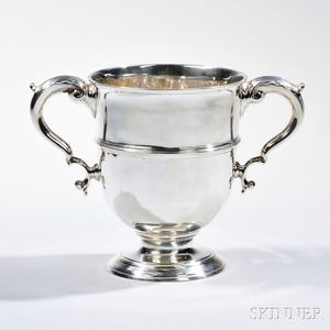 Georgian Sterling Silver Two-handled Loving Cup