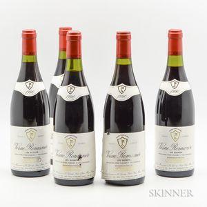 Mommessin Vosne Romanee Les Suchots 1990, 5 bottles