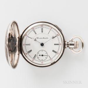 """Hamilton Watch Co. """"927"""" in """"O'Hara"""" Coin Silver Case"""