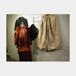 Lot of Vintage Victorian and Mid 20th Century Women's Clothing