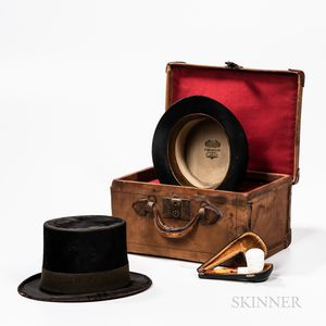 Two Top Hats and a Meerschaum Pipe