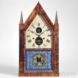 Silas B. Terry Balance Wheel Steeple Clock