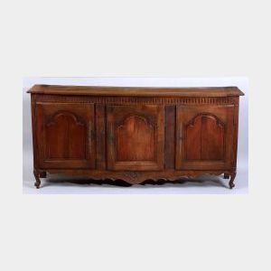 Louis XV Provincial Oak Sideboard