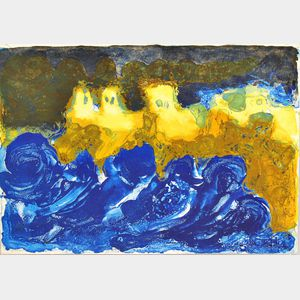 Continental School, 20th Century      Canary Islands Abstraction