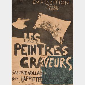 Pierre Bonnard (French, 1867-1947)      Les peintres graveurs Galerie Vollard