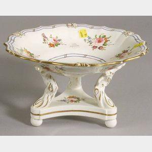 English Porcelain Compote