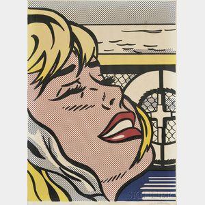 Roy Lichtenstein (American, 1923-1997)      Shipboard Girl