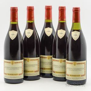 Mommessin Gevrey Chambertin 1996, 5 bottles
